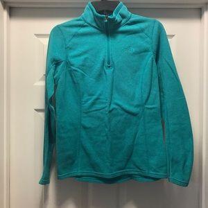 Women's North Face 1/4 Zip Sweatshirt